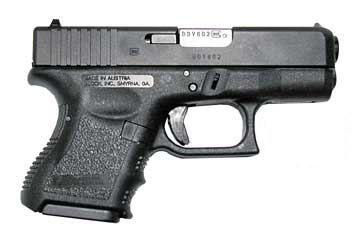 Glock 26 - אבטחת פין נוקר