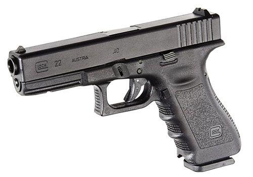 Glock 22 - אבטחת פין נוקר