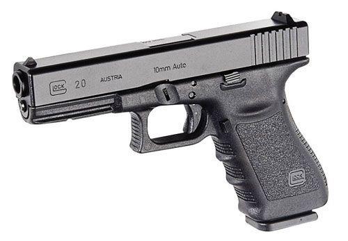 Glock 20 - אבטחת פין נוקר