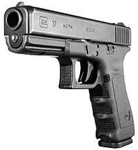 Glock 37 - אבטחת פין נוקר